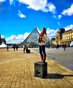 me and lourve