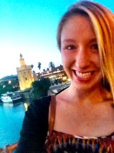torre de oro selfie